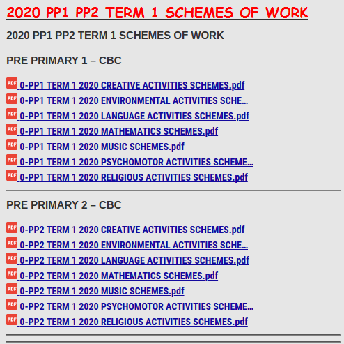 2020 PP1 PP2 TERM 1 SCHEMES OF WORK